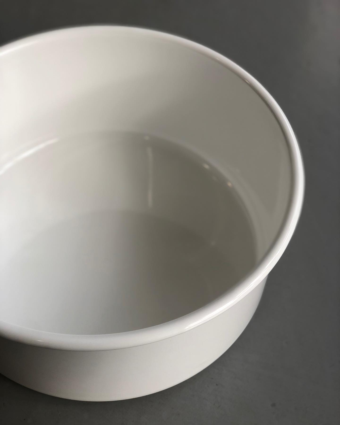 野田琺瑯 新 丸型 洗い桶
