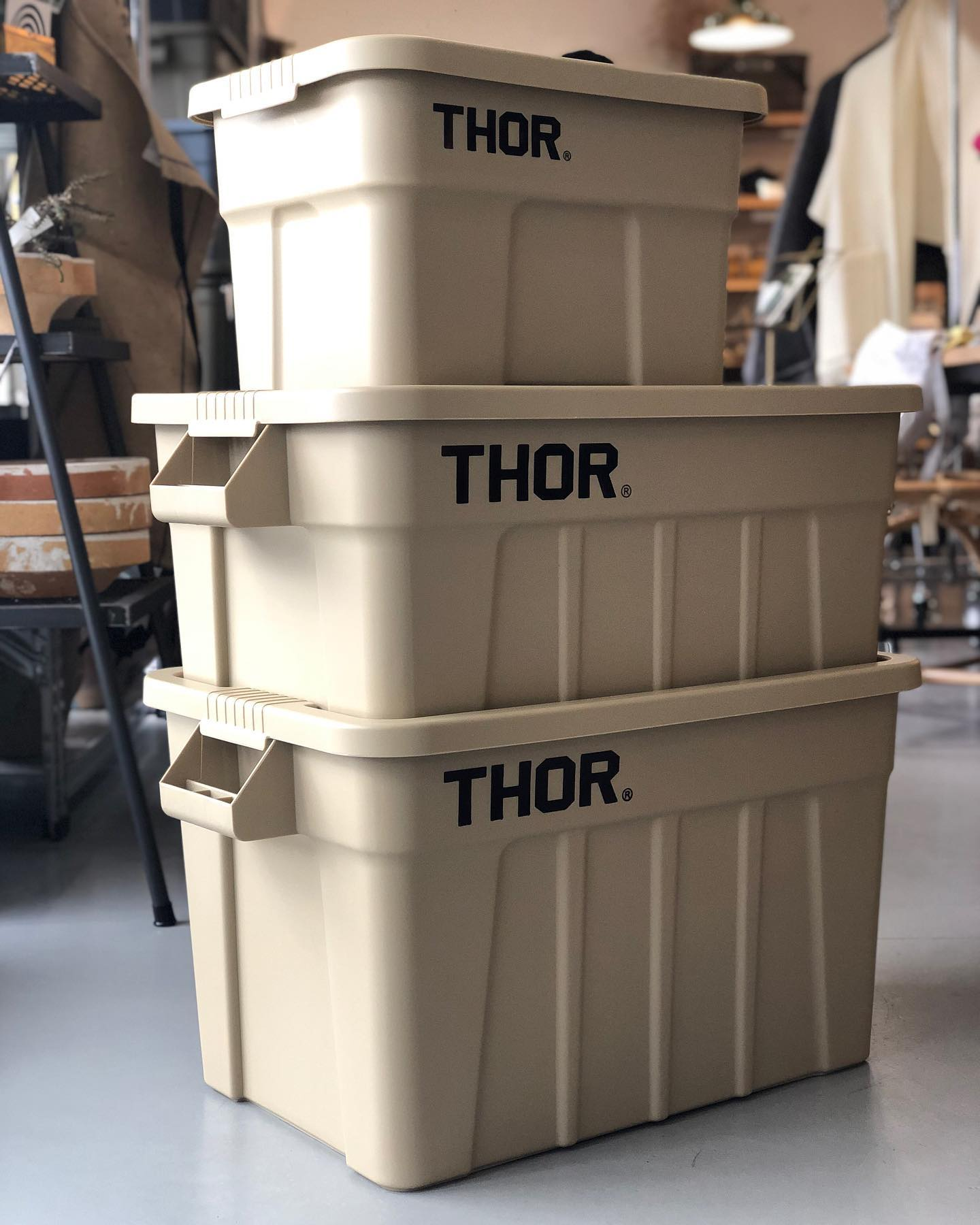 THOR / Large Totes With Lid